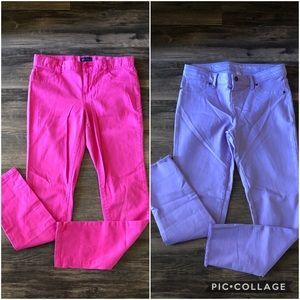 Girl's Bundle-2 pairs of Jeggings size 14